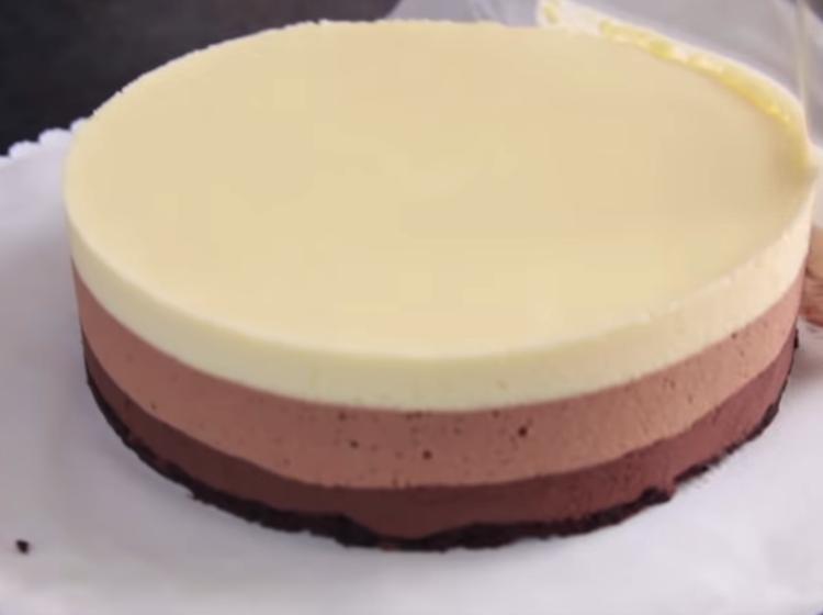 Mousse ai tre cioccolati di Ernst Knam