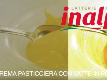 Crema Pasticciera con latte in polvere intero